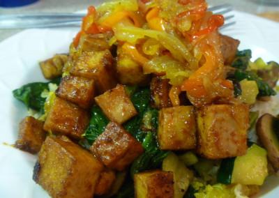Ancho Chili Tofu
