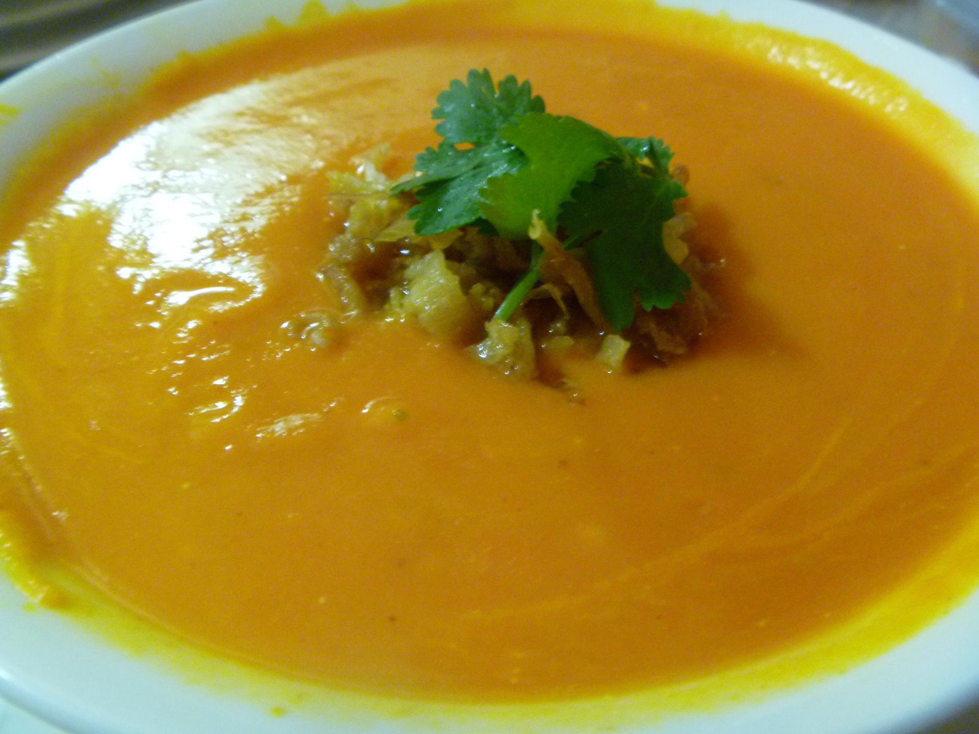 Carrot Beet Soup by Chef Johnna Gale