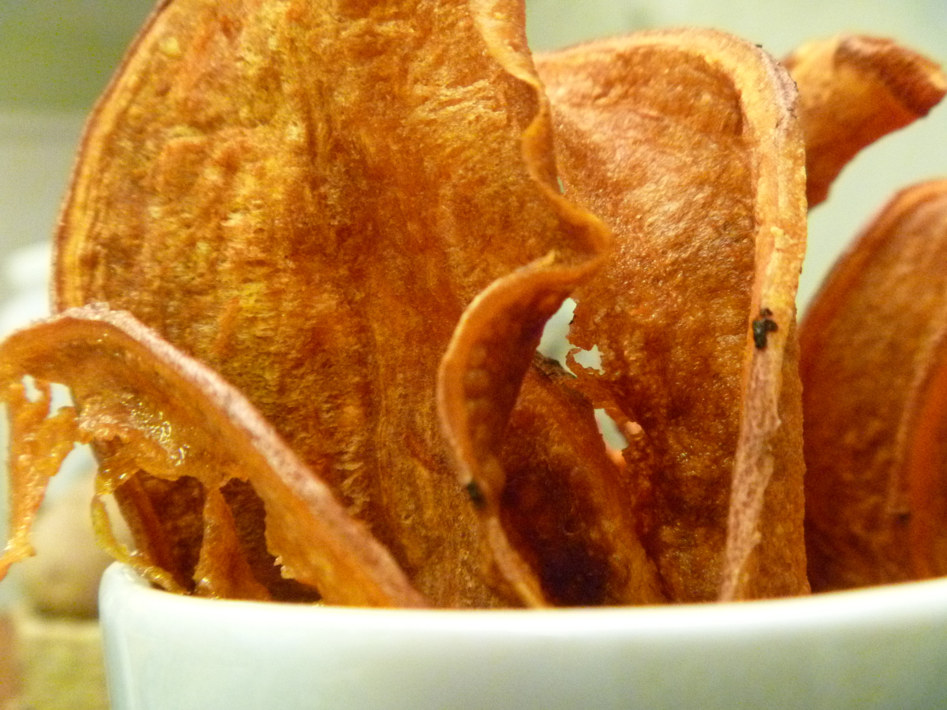 Sweet Potato Chips by Chef Johnna Gale