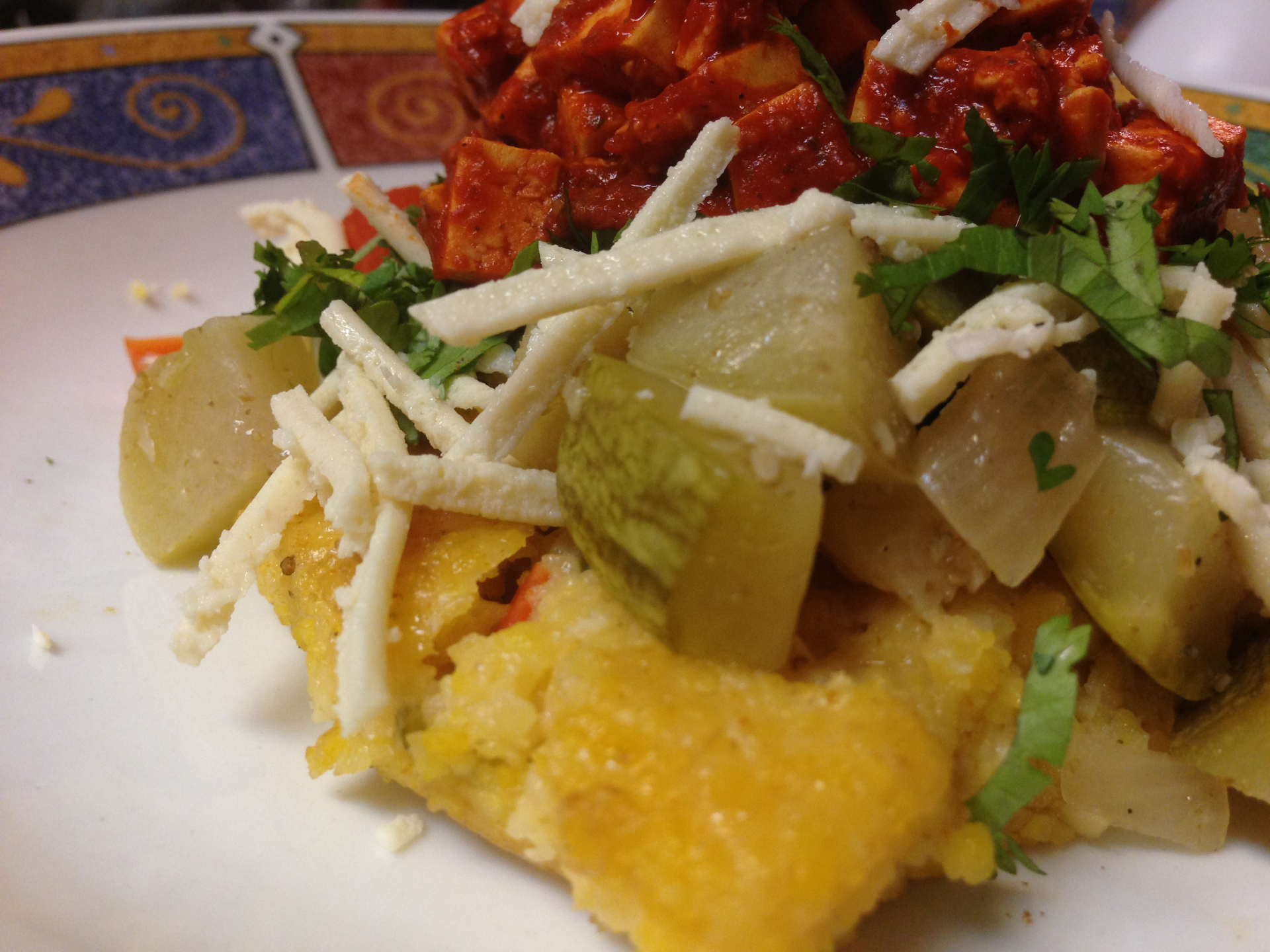 Polenta with Chili by Chef Johnna Gale