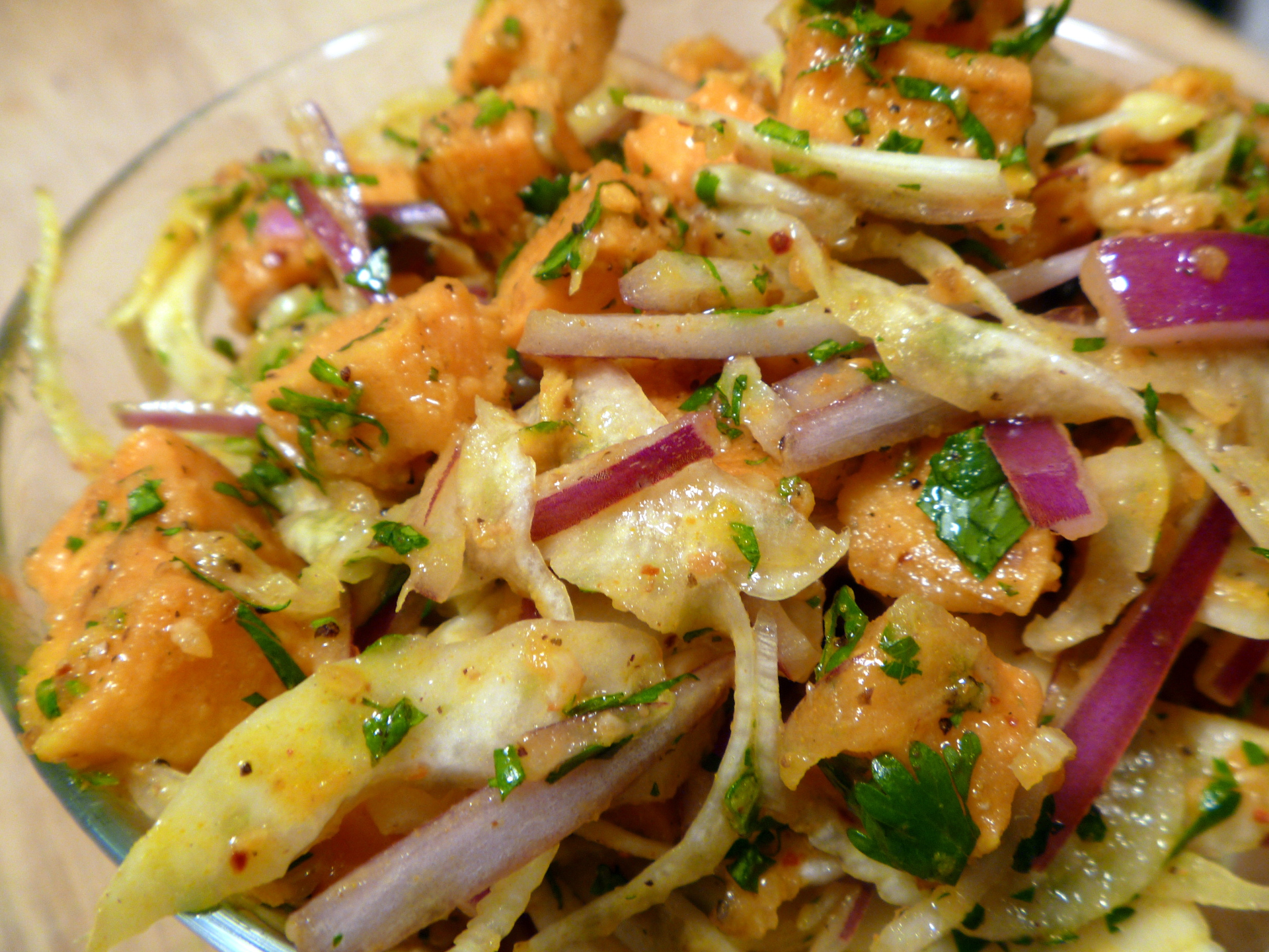 Sweet Potato Salad by Chef Johnna Gale