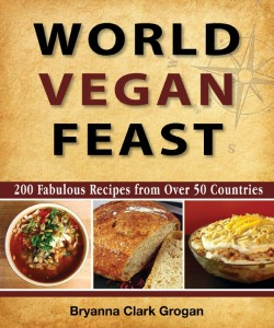 world vegan feast book cover