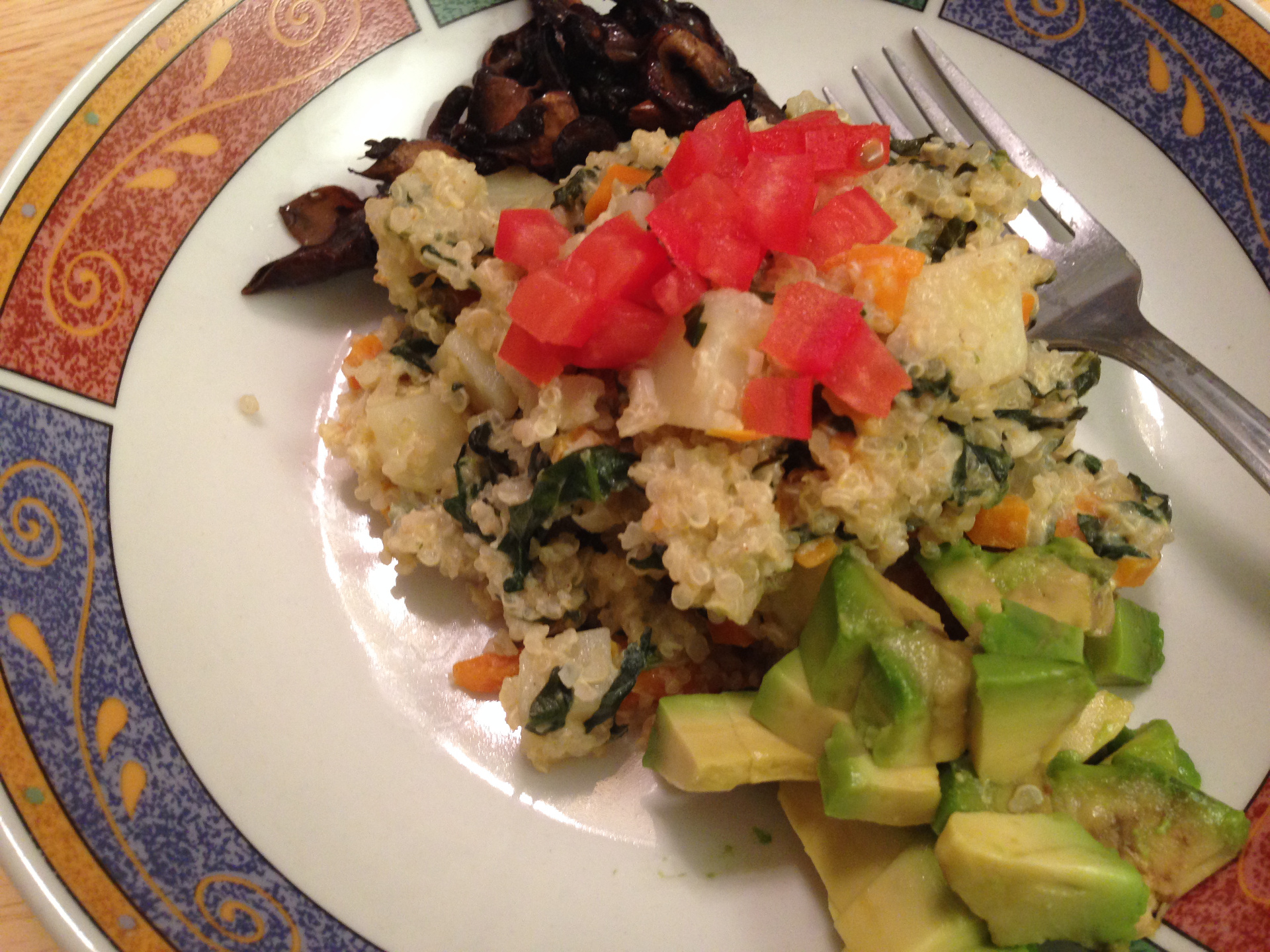 Quinoa Plate by Chef Johnna Gale