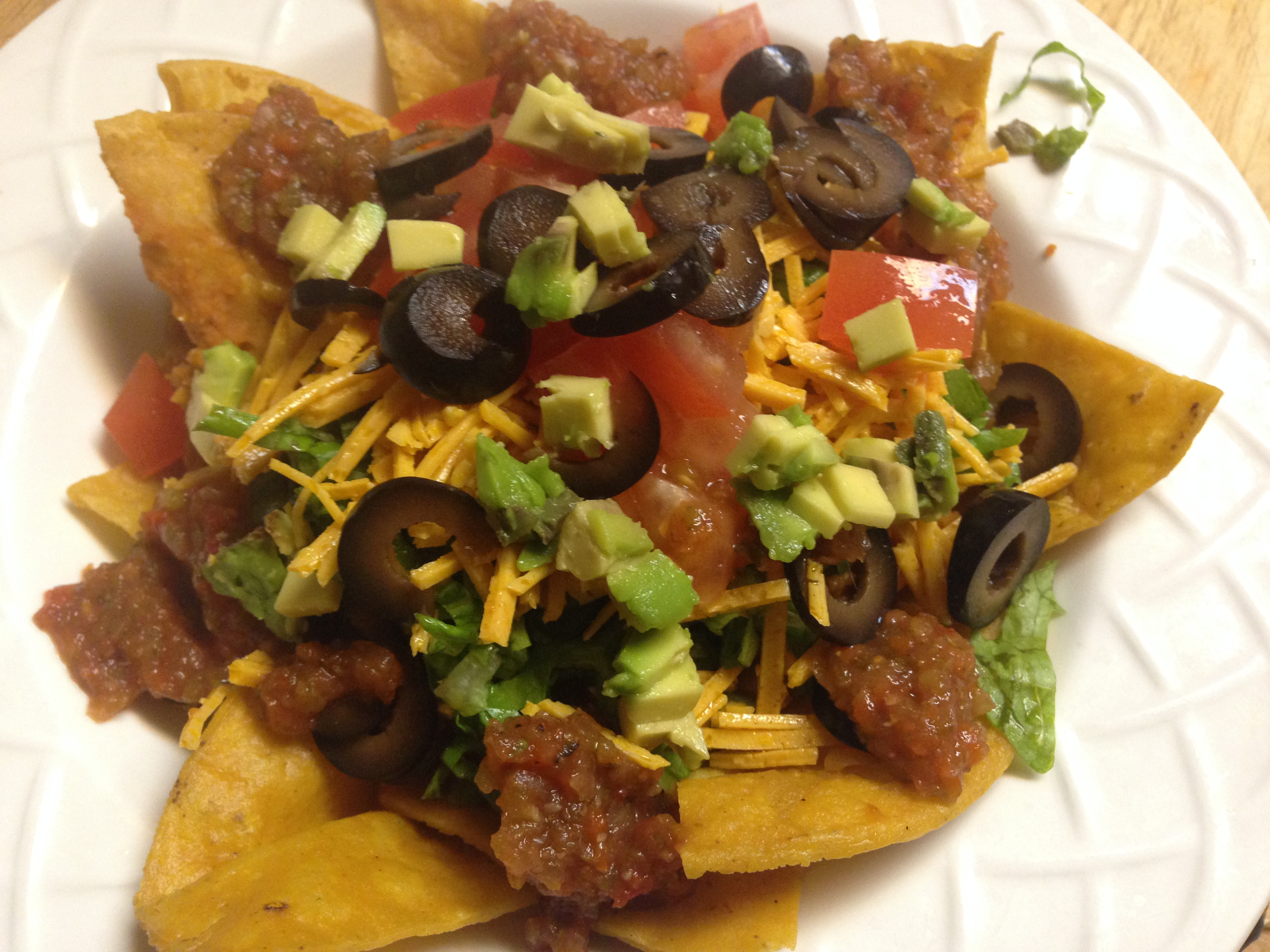 Nachos with Lentils by Chef Johnna Gale