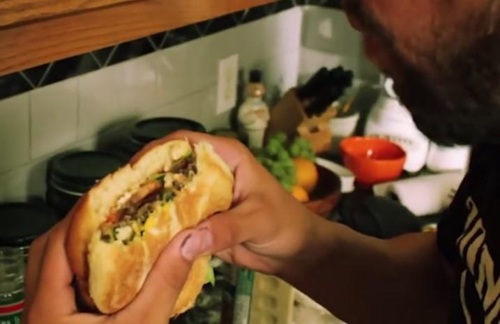 Vegan Burger from the Vegan Zombie