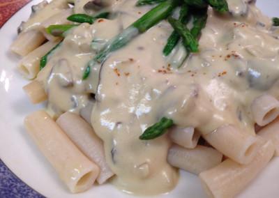 Cashew Cream Pasta