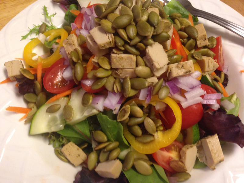 Dinner Salad by Chef Johnna Gale