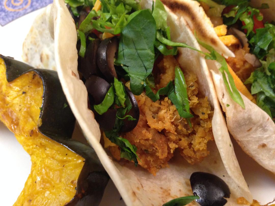 Southwestern Lentil Tacos
